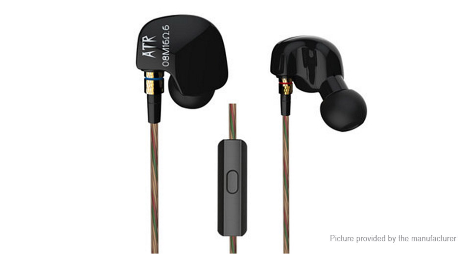 KZ ATR Mega Bass Hifi In-Ear Earphones