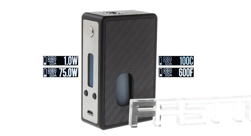 YFTK SVA Styled 75W TC VW APV Box Mod