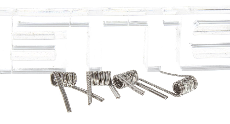 Prebulit Coil for RBA Atomizer (4-Pack)