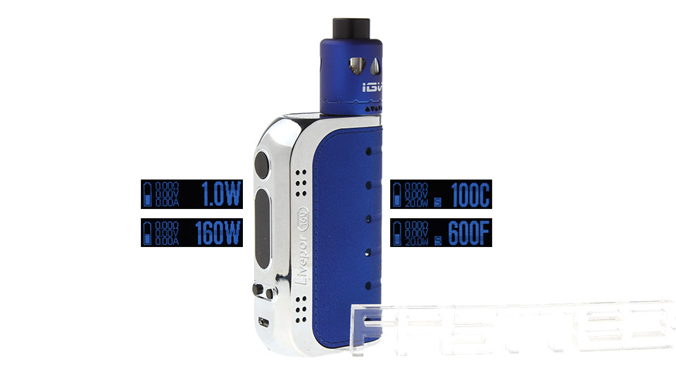 Authentic YOSTA Livepor 160W TC VW APV Box Mod Kit