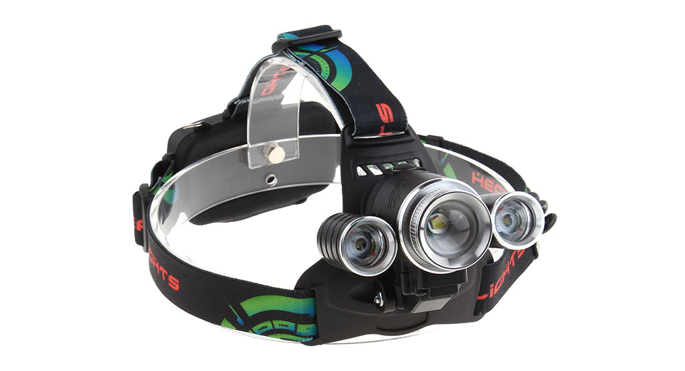 3*LED 4-Mode 1500LM LED Headlamp