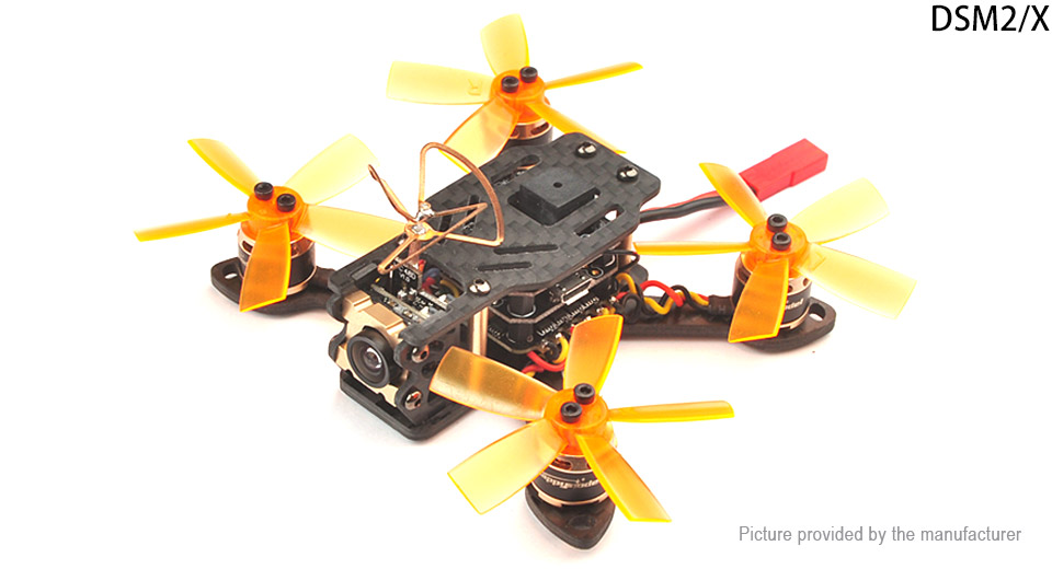 Happymodel Toad 90 FPV Drone R/C Quadcopter (BNF DSM2/DSMX Receiver)