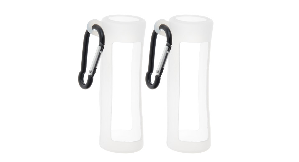 Protective Silicone Sleeve Case for 60ml E-liquid Bottle (2-Pack)