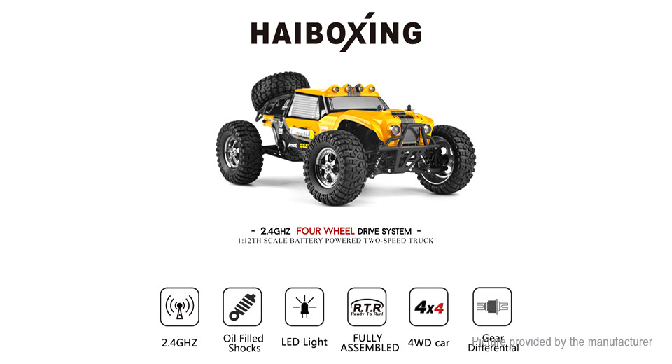 $61.70 HBX 12889 2.4GHz R/C Remote Control Variable Speed
