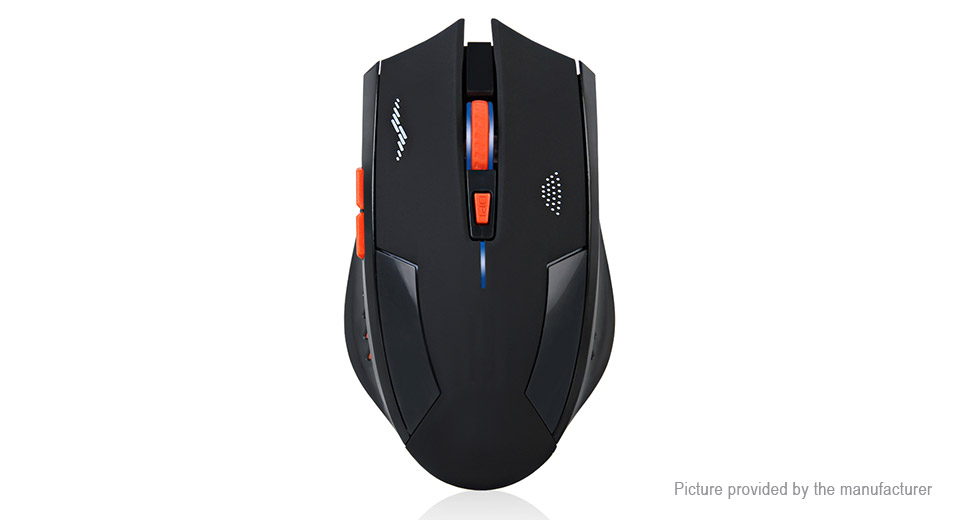 AZZOR 2.4GHz Wireless Rechargeable Gaming Mouse