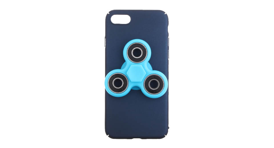Hand Fidget Tri-Spinner Protective Back Case for iPhone 7