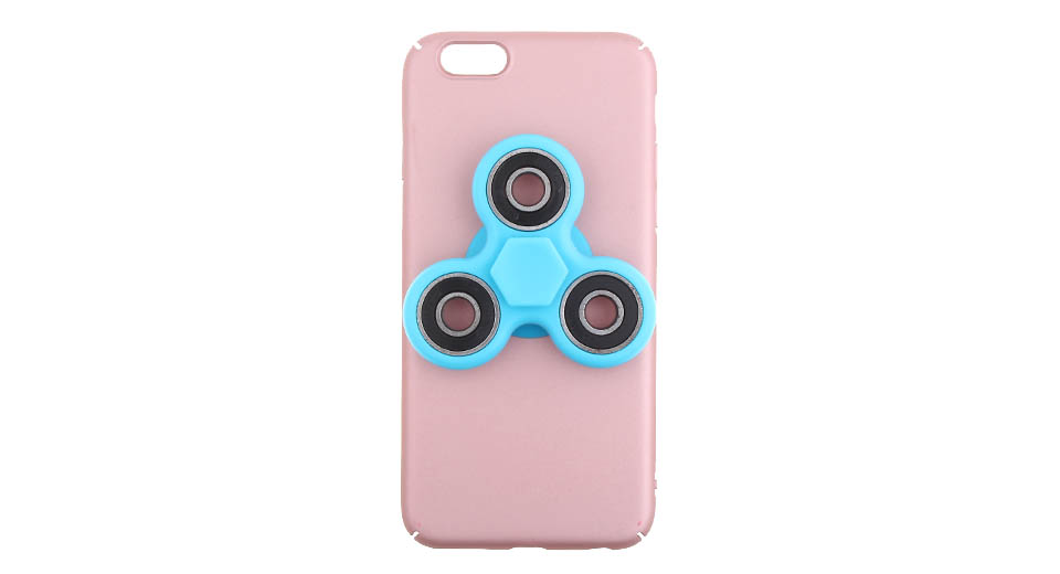 Hand Fidget Tri-Spinner Protective Back Case for iPhone 6s/6