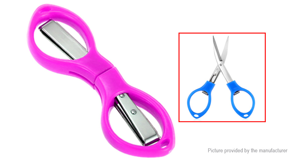 Glasses Styled Stainless Steel Folding Fishing Scissors Wire Cutter