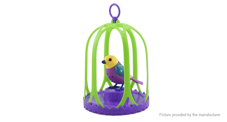 Electric Sound Singing Parrot Bird for Children Gift Toys