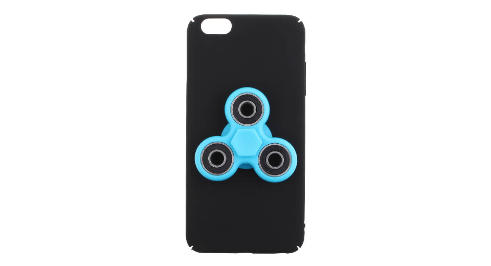 Hand Fidget Tri-Spinner Protective Back Case for iPhone 6s Plus/6 Plus