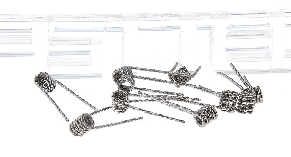 $2.24 Authentic Coil Buster 316L Stainless Steel Fused