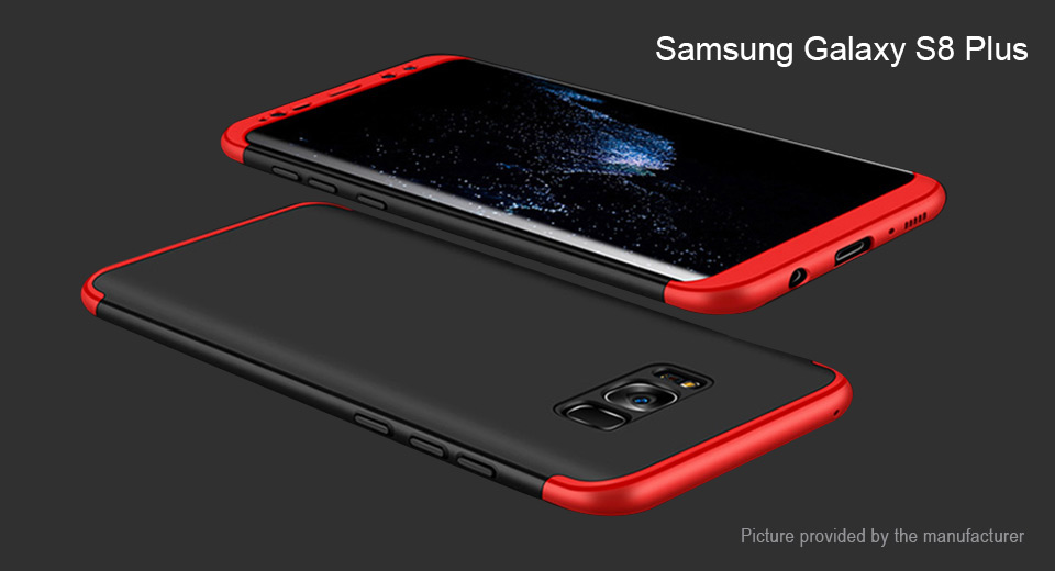 LIKGUS Full Protective Case Cover for Samsung Galaxy S8+
