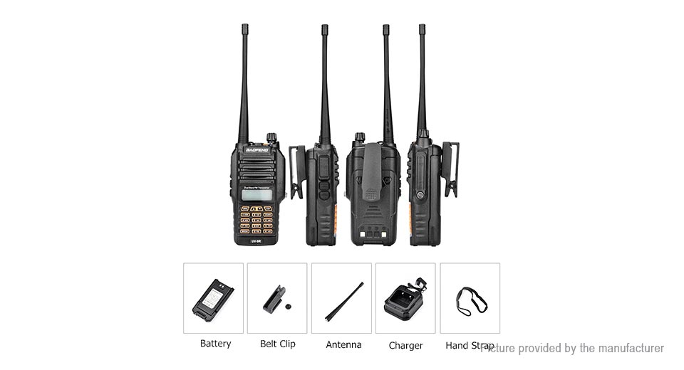 $51.83 BaoFeng BF-UV-9R 8W 400~470MHz Two-Way Radio (UK