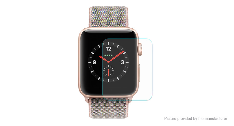 Hat.Prince 2.15D Tempered Glass Screen Protector for Apple Watch Series 3 42mm