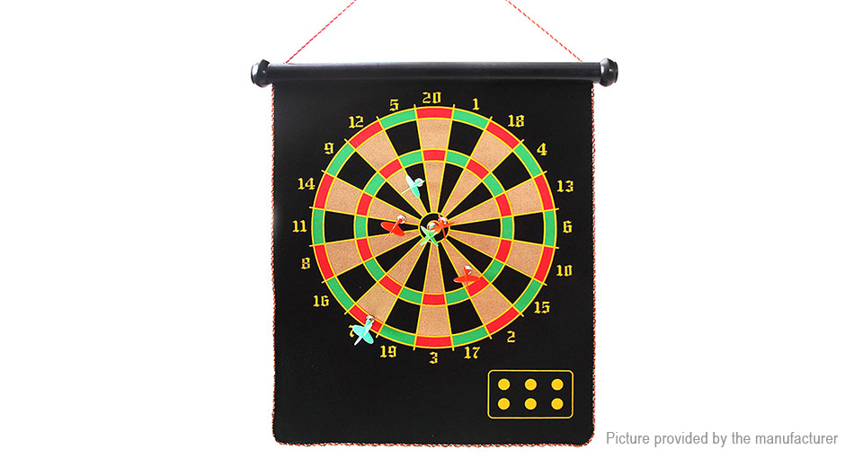15 Magnetic Dartboard Family Travel Entertainment Chess Dart Game