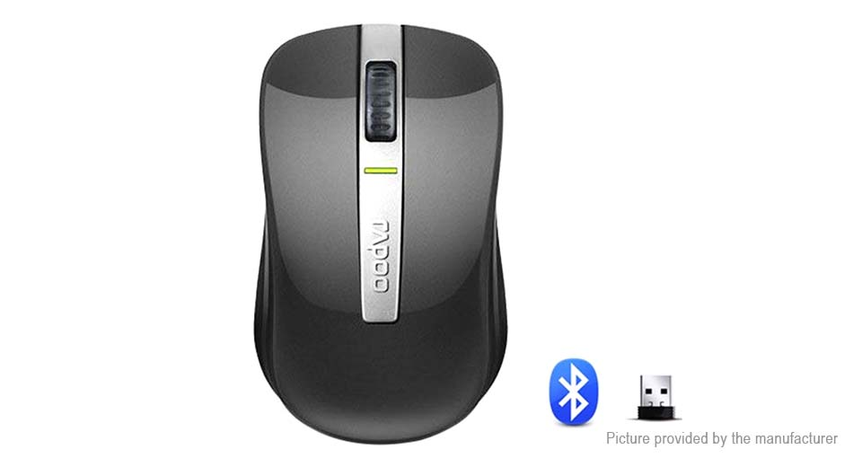 Authentic Rapoo 6610 2.4GHz Bluetooth V3.0 Dual Mode Mouse