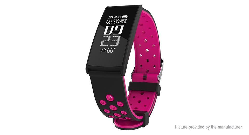 R11 0.96 OLED Touch Screen Smart Bracelet Wristband