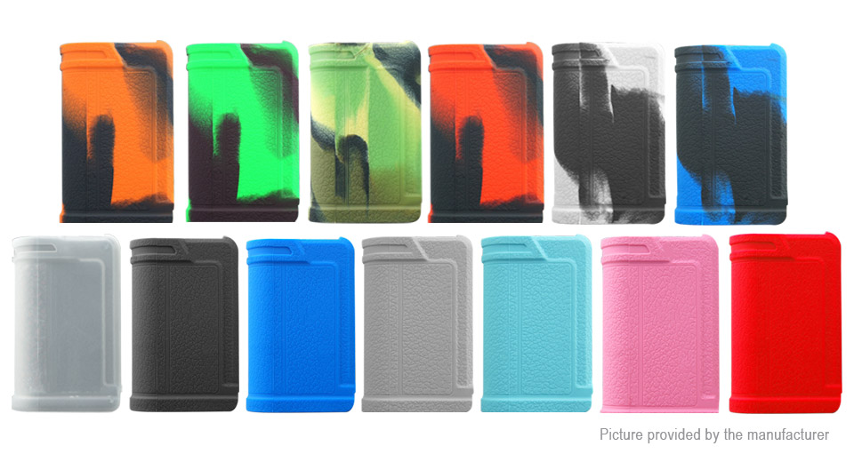 Protective Silicone Sleeve Case for Lost Vape Paranormal DNA75C (13 Pieces)