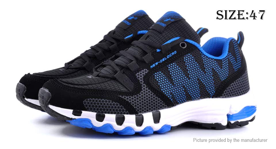 Mens Outdoor Sports Shoes Breathable Running Sneakers (Size 47)