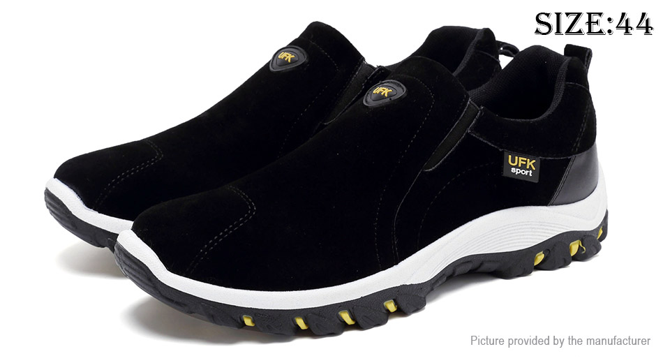 Mens Outdoor Sports Shoes Hiking Climbing Round Toe Sneakers (Size 44)