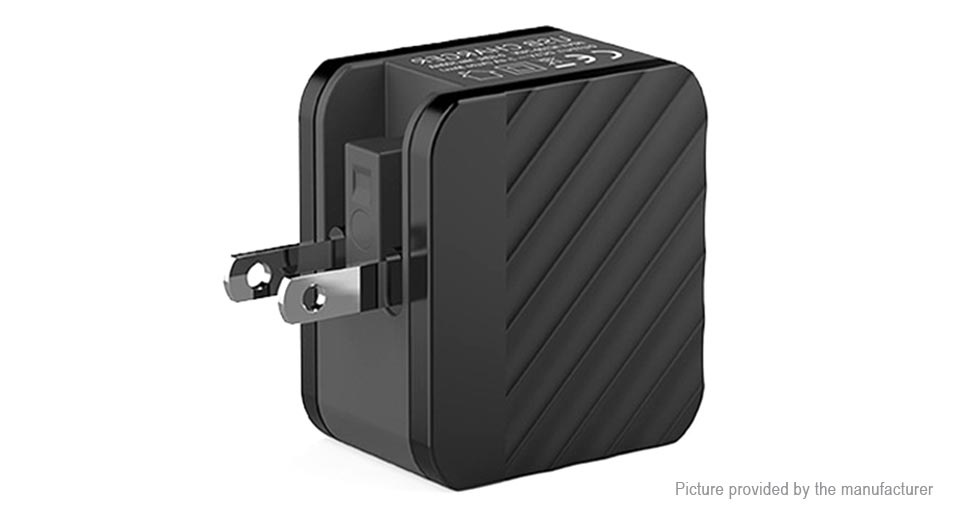 4-Port USB Portable Travel Wall Charger Power Adapter (US)