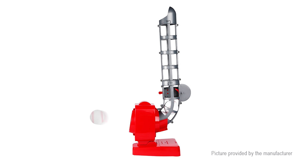 Outdoor Sports Baseball Pitching Machine Automatic Dispenser Toy