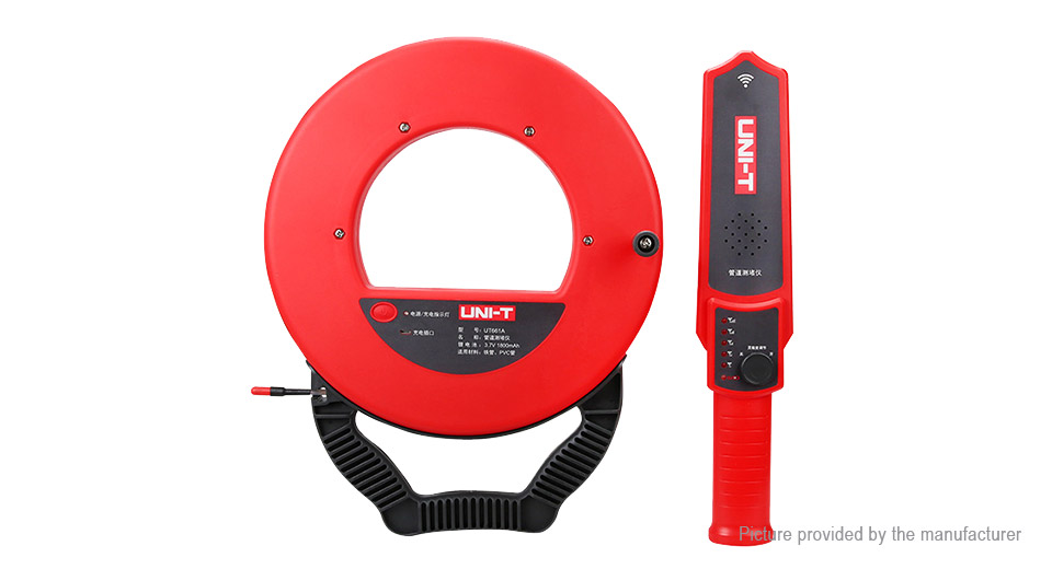 Authentic UNI-T UT661A Wall Pipe Blockage Detector Diagnostic Tool