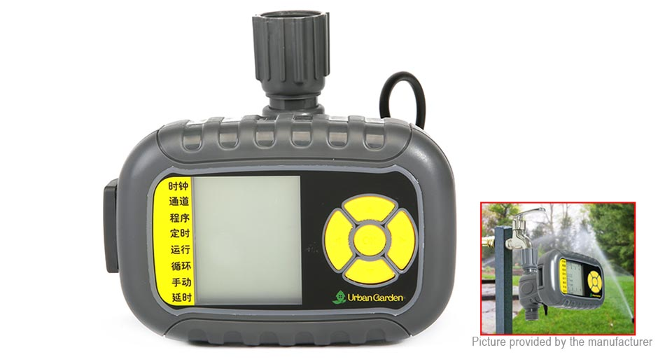 Programmable Hose Faucet Watering Timer Automatic Irrigation Controller