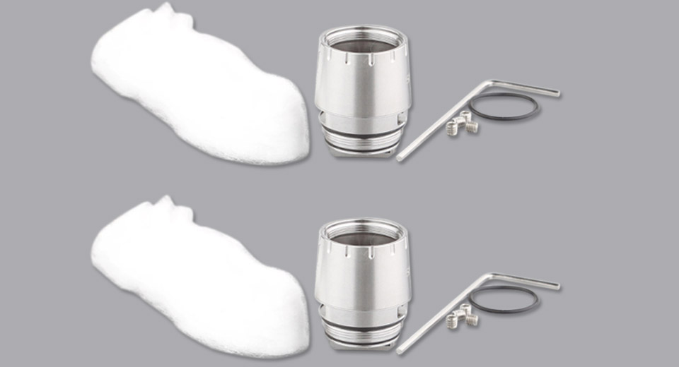Authentic Smoktech SMOK TFV12 Prince Replacement RBA Coil Head (2-Pack)