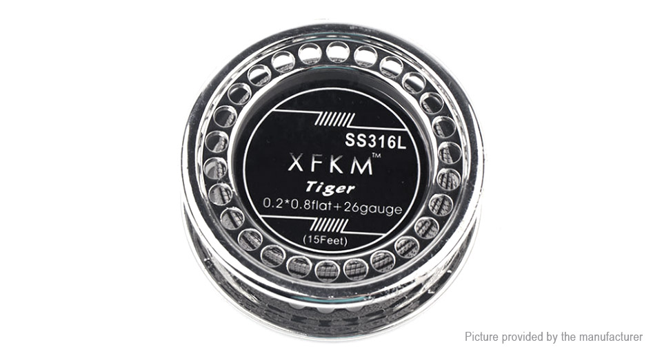 Authentic XFKM 316L Stainless Steel Tiger Heating Wire