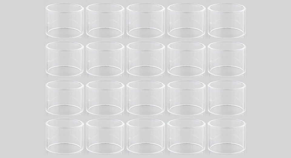 Replacement Glass Tank for Elabo Tank Clearomizer (20-Pack)