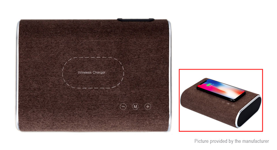Bluetooth V4.1 Speaker Qi Inductive Wireless Charging Pad Transmitter (US)
