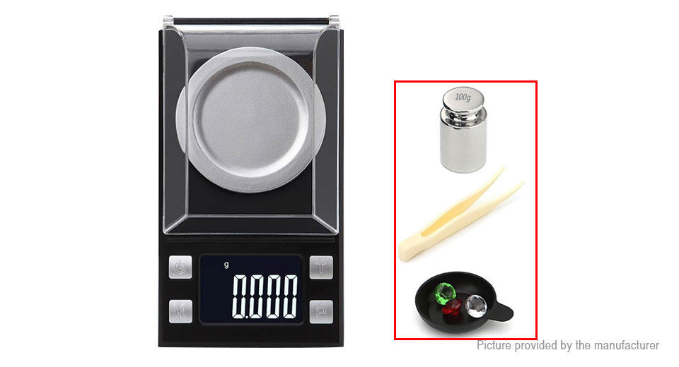 DH-8028 Electronic Digital Jewelry Pocket Scale (100g/0.001g)