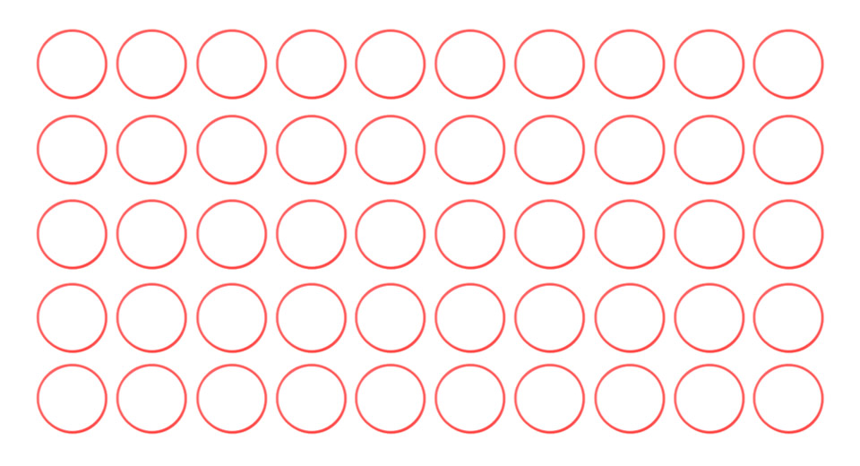 Silicone O-Ring Seals for Atomizers (50-Pack)