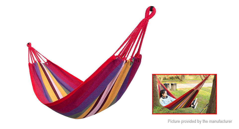 TrackMan TM6501 Portable Outdoor Camping Hammock Hanging Swing Bed