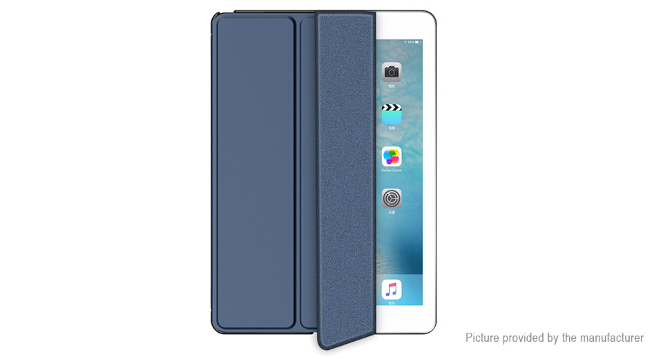 ROCK PU Flip-Open Protective Stand Case Cover for Apple iPad Pro 10.5