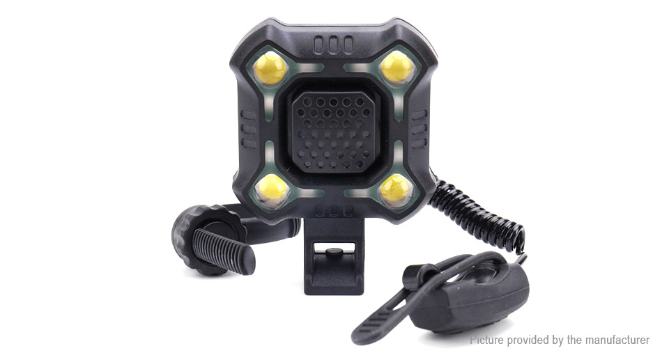 4*LED 5-Mode 350LM LED Bicycle Front Light