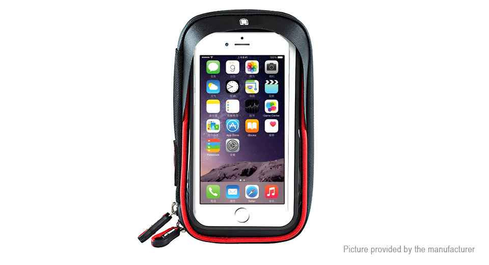 WHEEL UP Bicycle Cycling Handlebar Frame Touch Screen Cell Phone Bag