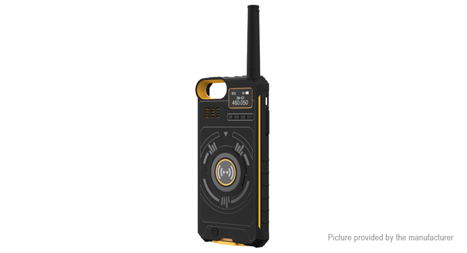 DTNO.I 3-in-1 Wireless Walkie Talkie + Protective Case + Mobile Power Bank for iPhone