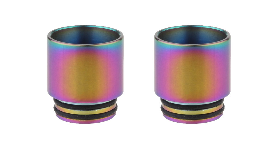 Authentic Skullvape Stainless Steel 810 Drip Tip (2-Pack)