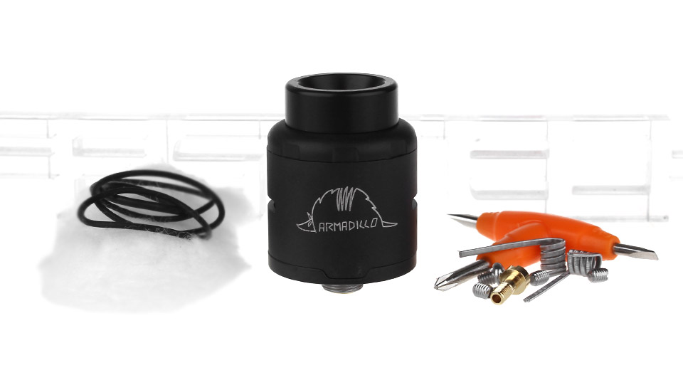 Authentic Oumier Armadillo RDA Rebuildable Dripping Atomizer