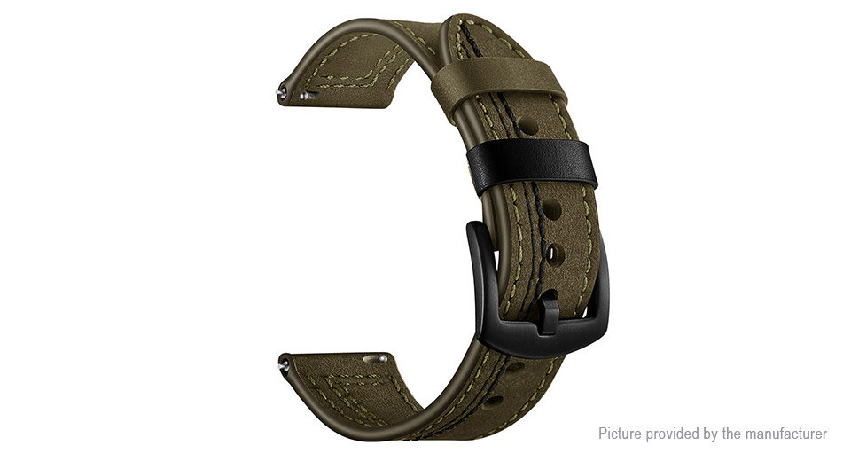 Leather Watch Band Watch Strap for Xiaomi Huami Amazfit 2/2S
