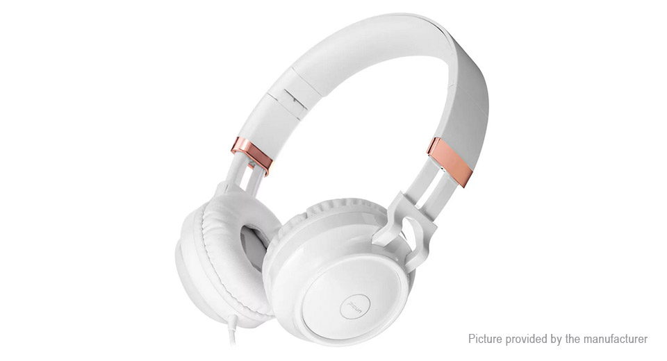 Picun C60 Foldable Wired Heavy Bass Stereo Headphones