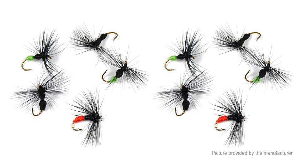 Artificial Ant Styled Fly Fishing Lure Bait (10 Pieces)