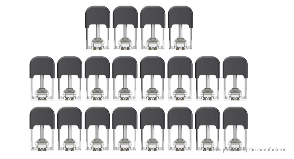 Authentic Phiness Vega Replacement Pod Cartridge (20-Pack)
