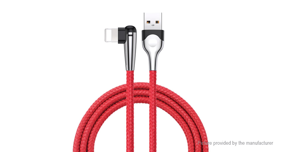 Authentic Baseus Sharp-bird 8-pin to USB 2.0 Data & Charging Cable (200cm)