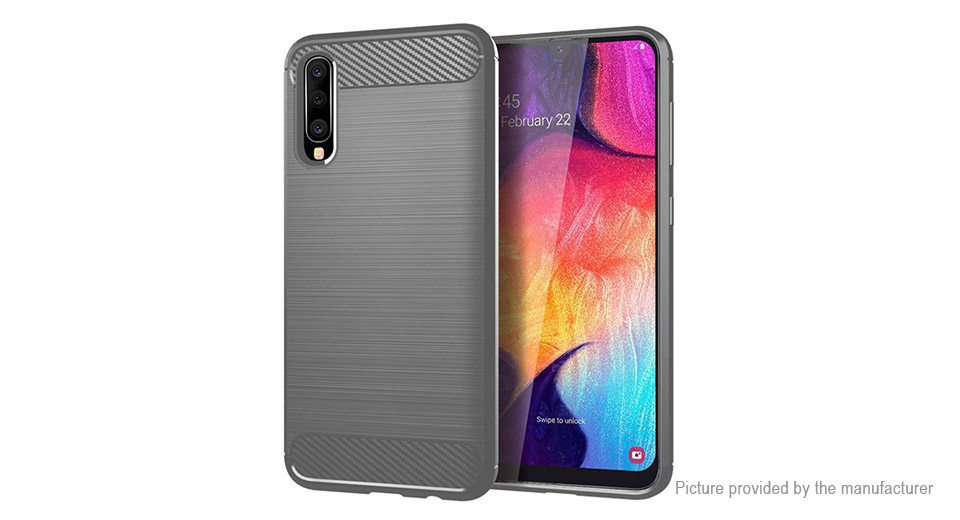 TPU Brushed Protective Back Case Cover for Samsung Galaxy A50