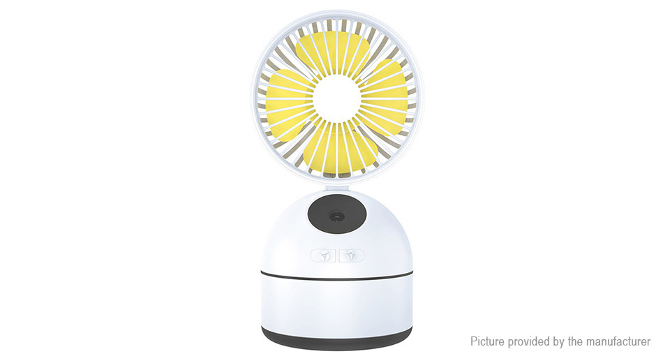 USB Rechargeable Home Office Desktop Hydrating Spray Cooling Fan