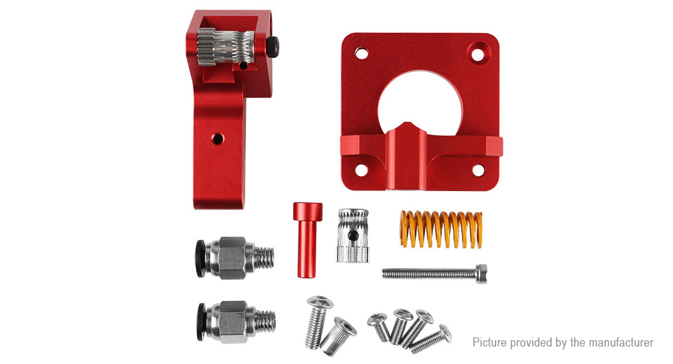 Upgrade Dual Gear Drive Extruder Kit for Creality CR-10S Pro / Ender 3
