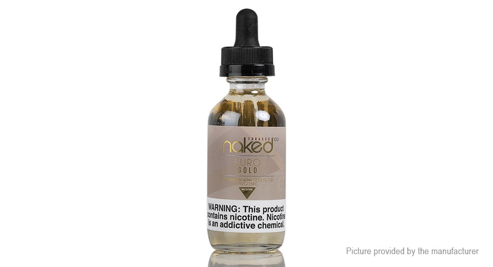 Authentic Naked 100 E-liquid for Electronic Cigarettes (60ml)